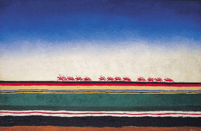 Rote Kavallerie, Kazimir Malevich, 1932